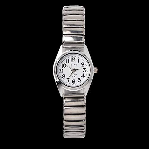 Relojes ElasticCouple para Hombres y Mujeres, Reloj mecánico automático, Reloj Elegante de Moda, Reloj de Pulsera Resistente al Agua, Regalo para Mujeres