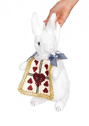 shoperama White Rabbit Henkeltasche von Leg Avenue Alice im Wunderland Hase Kaninchen