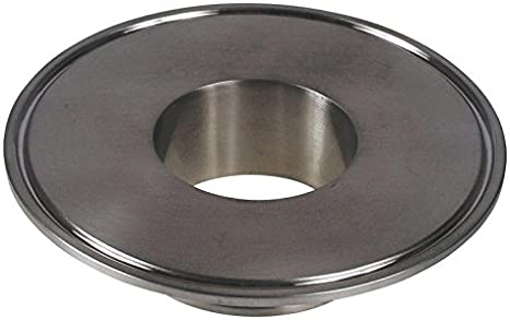 Tri Clamp 4 inch x 2 in End Cap Reducer - Stainless Steel SS304 Glacier Tanks - 2 Pack