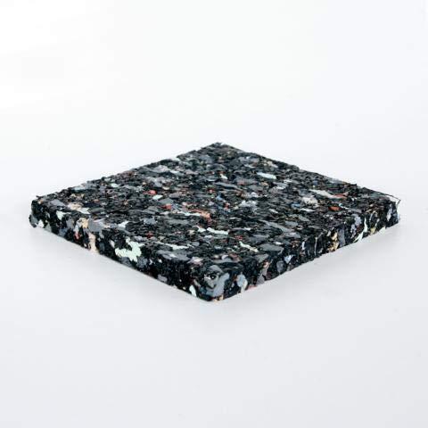 Terrassenpads/Gummistreifen 100 x 100 x 10mm, 10 Stück, Marke Szagato (Gummipads als Unterlage für Terassenbau, Made in Germany) Menge auswählbar!