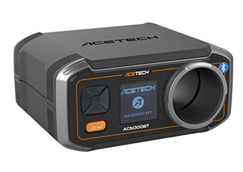 ACETECH-AC6000BT Exclusive- Airsoft Gun Speed Tester BBS Rechargeable Chronograph (AC6000 BT Box Set)