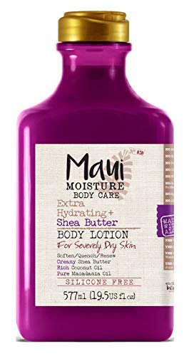 Maui Moisture Body Care Extra Hydrating Shea Butter Body Lotion 195 Ounce 18282