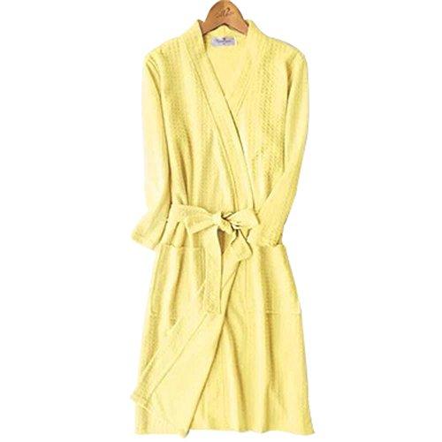 Eastsky - Albornoz - para Mujer Amarillo Amarillo Large