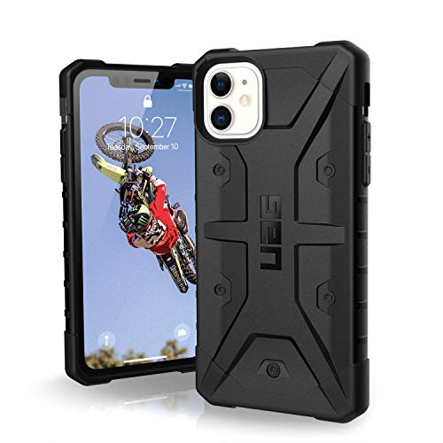 UAG Designed for iPhone 11 [6.1-inch Screen] Pathfinder Feather-Light Rugged [Black] Military Drop Tested iPhone Case