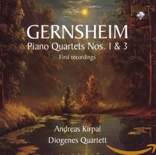 Gernsheim: Piano Quartets