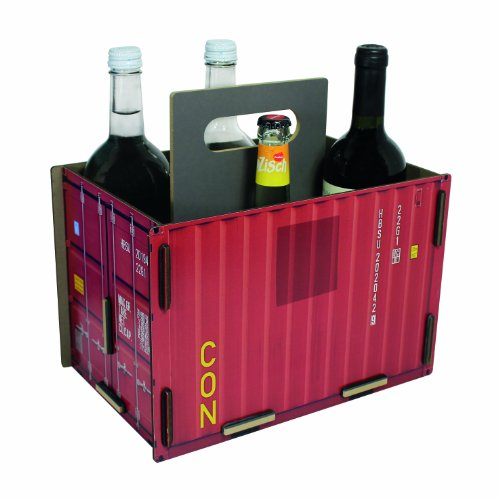 Werkhaus Container Sixpack Rosso