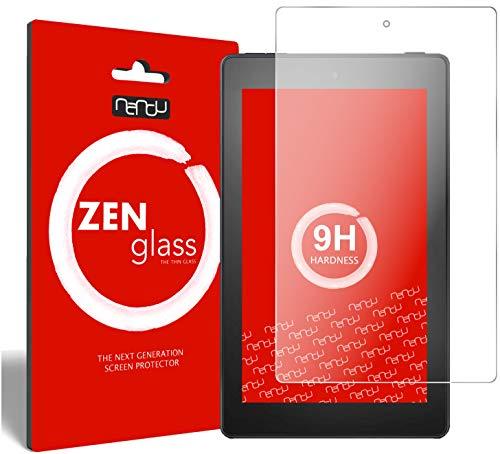 ZenGlass Nandu Pellicola Protettiva in Vetro Compatibile con Amazon Fire 7 Tablet Kids Edition (2019) I Protezione Schermo 9H
