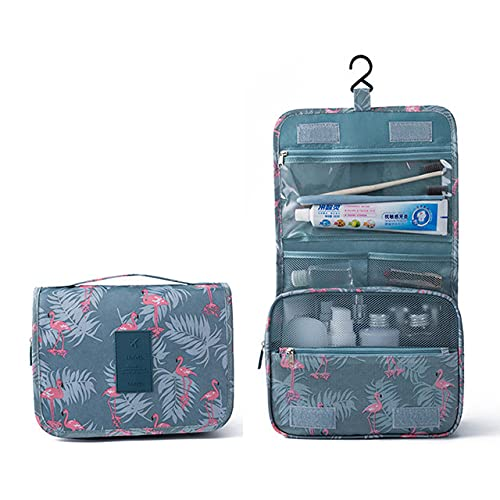 ZHYHAM Bolsa de cosméticos de la grúa colgante bolsa de almacenamiento impermeable viaje belleza cosméticos bolsa paquete de salud personal