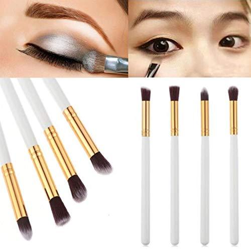 MEIYY Pinceau de maquillage Make Up 4Pcs Makeup Brush Set Eyeshadow Powder Foundation Eyebrow Blush Eye Shadows Brushes 2Colors Cosmetics Makeup