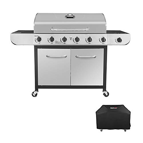 Royal Gourmet SG6001C SG6002C Grill, Stainless Steel