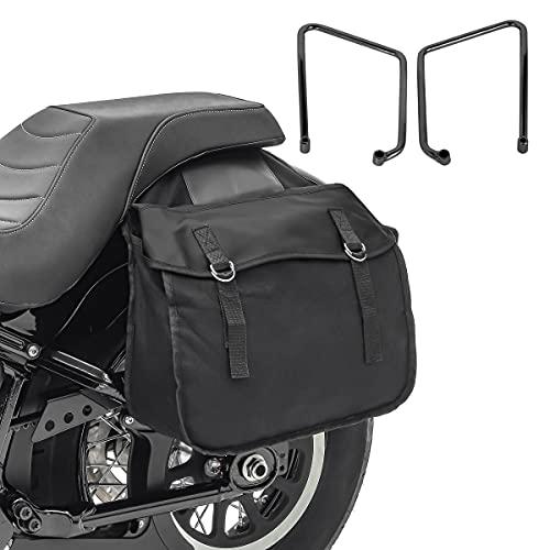 Bolsas Laterales con Soporte SB3 para Harley Sportster 883 Iron 09-20
