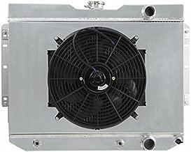 ALLOYWORKS Aluminum Radiator + Fan Shroud Kit for 1959-63 Chevy Impala , EI Camino / 1960-65 Chevy Biscayne, Bel Air