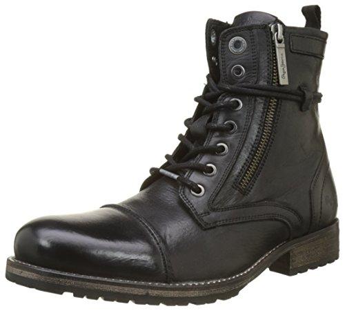 Pepe Jeans London Herren Melting Zipper New Desert Boots, Schwarz (Black 999), 46 EU