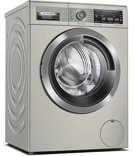 Bosch WAX32MX0 Serie 8 Waschmaschine Frontlader / C / 67 kWh/100 Waschzyklen / 1600 UpM / 10 kg / Silber-inox / Fleckenautomatik / 4D Wash System / Home Connect