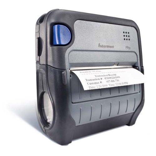 Intermec PB51 - Impresora de Etiquetas (Térmica Directa, 203 x 203 dpi, 101,6 mm/s, 4 Ipm, Negro, Gris, 16 MB)
