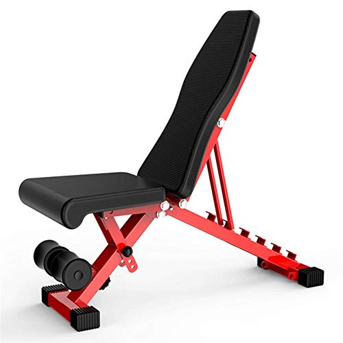 Great Features Of LSX–Dumbbell Bench Dumbbell Bench Sit-up Board Sports aids Home Multi-Function Abdominal Muscle Training Board Equipment