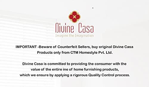Divine Casa 100% Cotton Geometric Print Mix N Match Bedsheet for Double Bed (Multicolour) 2