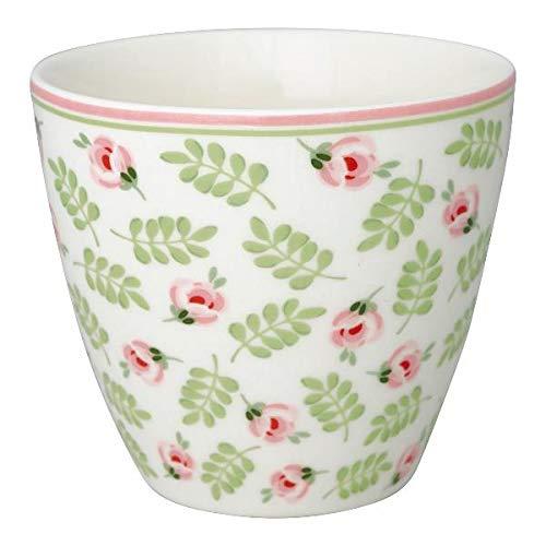 GreenGate - Latte Cup - Kaffeebecher - Becher - Lily - Steingut - 300 ml