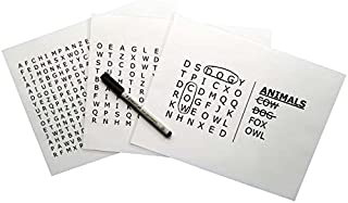 Keeping Busy Animals Word Search Dementia and Alzheimer's Grab & Go Engaging Puzzles/Activities/Games for Older Adults