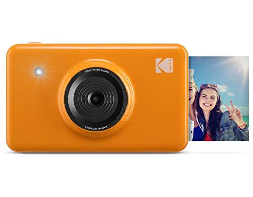 Kodak Mini Shot Wireless Sofortbild-Digitalkamera (Gelb) 2x3-Zoll-Druck mit patentierter 4-Pass-Drucktechnologie