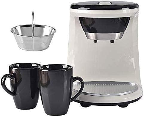 MTWERS Cafetera, Mini máquina de café de Goteo eléctrico, Cafetera de té...