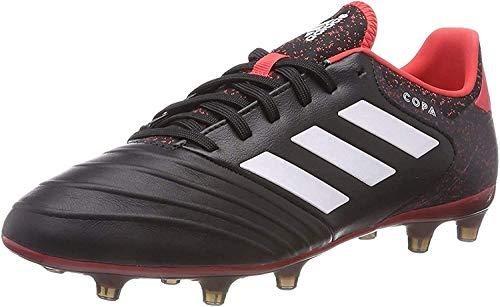 adidas Herren Copa 18.2 FG Fußballschuhe, Schwarz Core Black Footwear White Real Coral, 39 1/3 EU