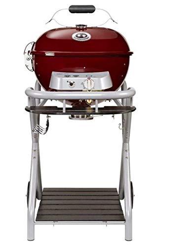 Barbecue sferico in acciaio grill da Giardino Esterno OUTDOORCHEF modello AMBRI 480 G RUBY, funziona a gas
