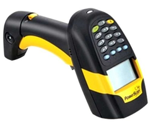 Purchase Powerscan m8300 handheld laser bar code reader (with display, 910mhz, laser and removable b...