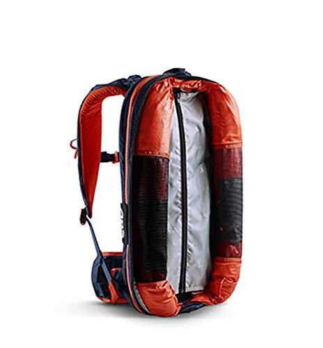 Lawinenrucksack P.RIDE Original Base Unit, Partnerauslösung + Twinbags für mehr Sicherheit, verwendbar mit P.RIDE Original + VARIO Zipons und Carbon Inflator, kostenfreie Probeauslösung, deep blue