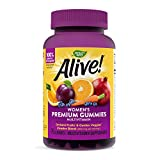 Nature's Way Alive! Women's Premium Gummy Multivitamin, Full B Vitamin Complex, 75 Gummies