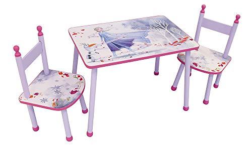 Fun House 713187 Disney Frozen, set tavolo con 2 sedie per bambini, 2 anni