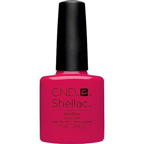 CND, Smalto per unghie Shellac, Wildfire, 7,3 ml