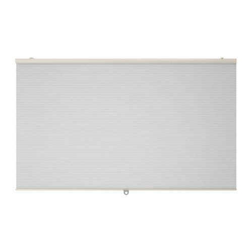 IKEA HOPPVALS Wabenjalousie in weiß; (60x155cm)