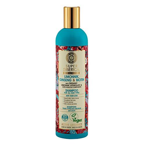 Natura Siberica Super Limonnik, ginseng & biotin. Shampoo for All Hair Types, 400 ml, 0883E