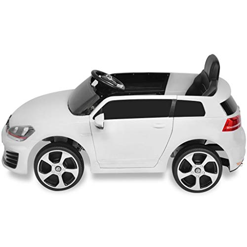 RC Auto kaufen Kinderauto Bild 2: Kinderfahrzeuge Kinderauto Elektroauto VW Golf GTI 7 weiß 12 V Mit Fernbedienung Elektrofahrzeuge*