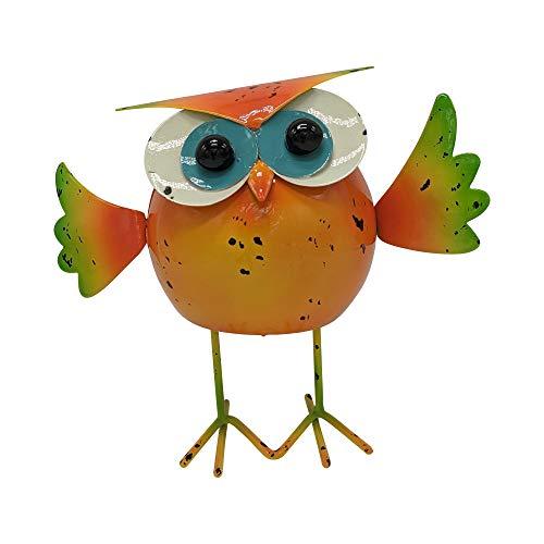 DECORMETALICA Crazy Bird Figura Metal artesana Decorativa