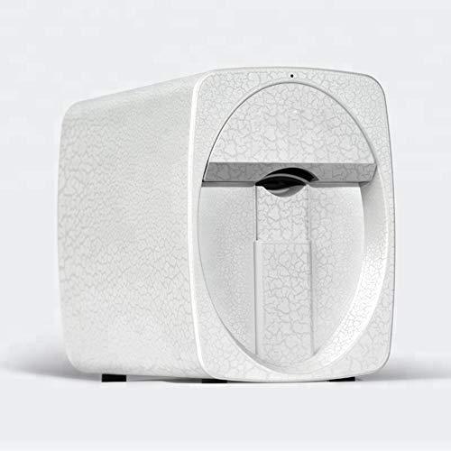 3D Mini Intelligent Nail Art Printer Machine - Portable Professional Digital Nail Art DIY Printing Machine Smart Phone APP Control Support Wifi,White