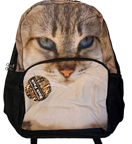 Niños Unisex realista Animal Diseño Mochilas/Mochilas/mochilas escolares para escuela, gimnasio, amantes de los animales