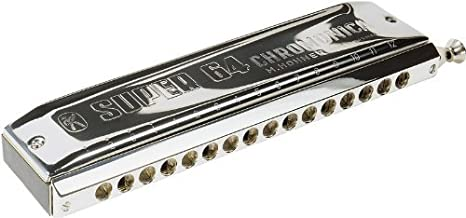 Hohner Super 64 Chromonica, Key of C