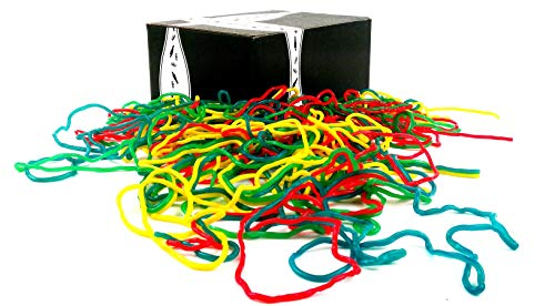 Gustaf's Rainbow Laces, 2 lb Bag in a BlackTie Box