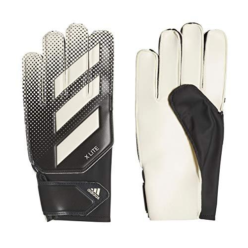 adidas Erwachsene X Lite Torwarthandschuhe, Black/White, 4