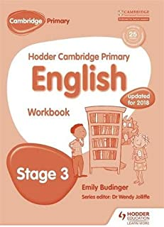 Hodder Cambridge Primary English: Work Book Stage 3