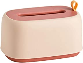 Toiletrolhouder, badkamerweefselhouder voor badkamer, keuken, wasruimte -Roze
