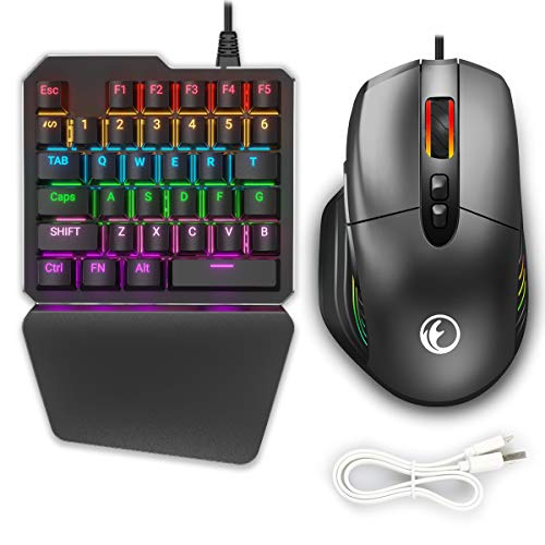 SAUJNN Game Rocker Extension Plate Analog Keyboard Mouse Function