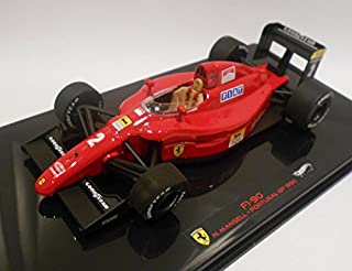 Ferrari F1-90 #2 Nigel Mansell Portugal GP 1990 Elite Edition 1/43 by Hotwheels X5519