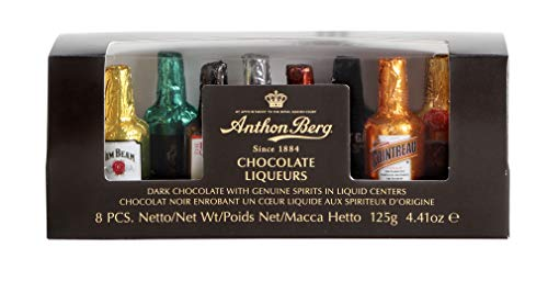 Anthon Berg - Chocolate Liqueurs - Famous Liqueur Brands - 8 bottles 125g -...