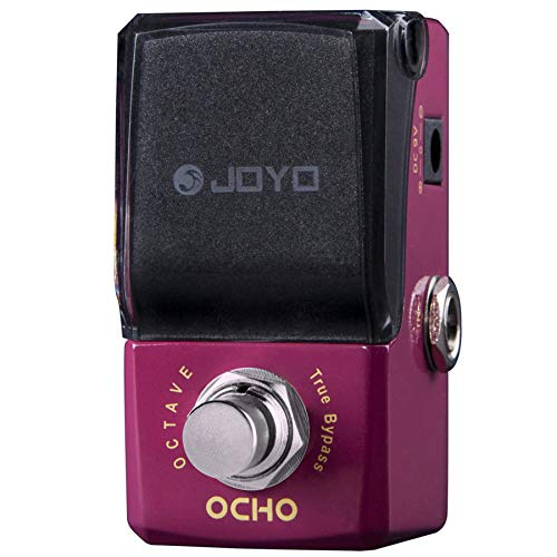 JOYO JF-330 Ocho Octave 2 Down Monophonic Guitar Effect Pedal Ironman mini series