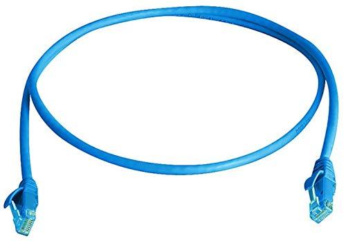 Telegärtner by Grenda-hammer - Cable de red Ethernet S/FTP (RJ45, cat. 6A, cable 1:1, S/FTP (LSZH) (azul, longitud 1 m)