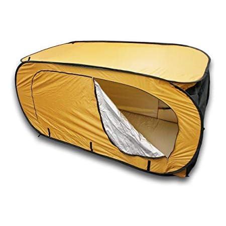 サングッド シングルテント 一人用テント 縦型・横型使用可能 簡単に広がります 就寝用・個室ができる 非常時 防災 SINGLE TENT