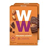 WW Chocolate Caramel Mini Bar - Kosher - 2 SmartPoints - 2 Boxes (24 Count Total) - Weight Watchers Reimagined